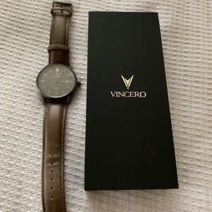 Vincero Watch with Leather Band